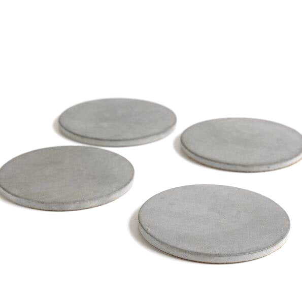 Concrete Coasters Set of 4