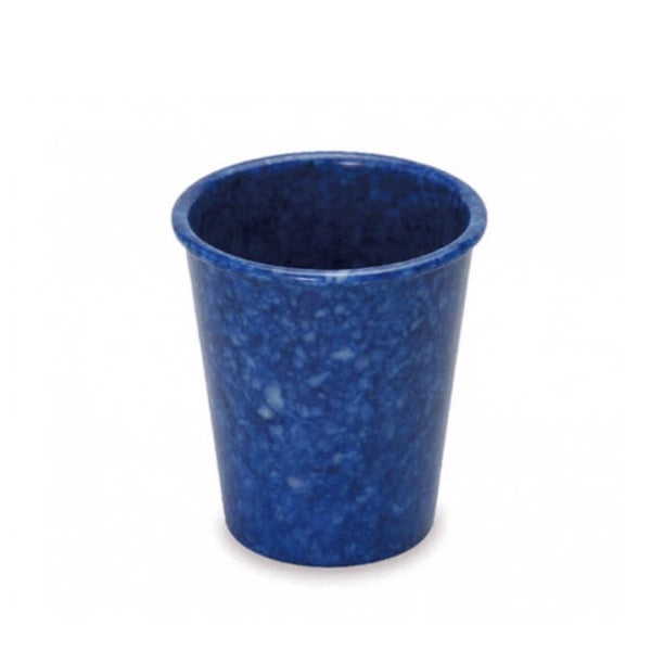 Melamine pen pot in navy blue