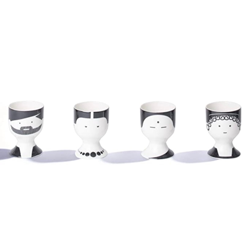 Philosophers Egg Cup Set of 4 by The School of Life
