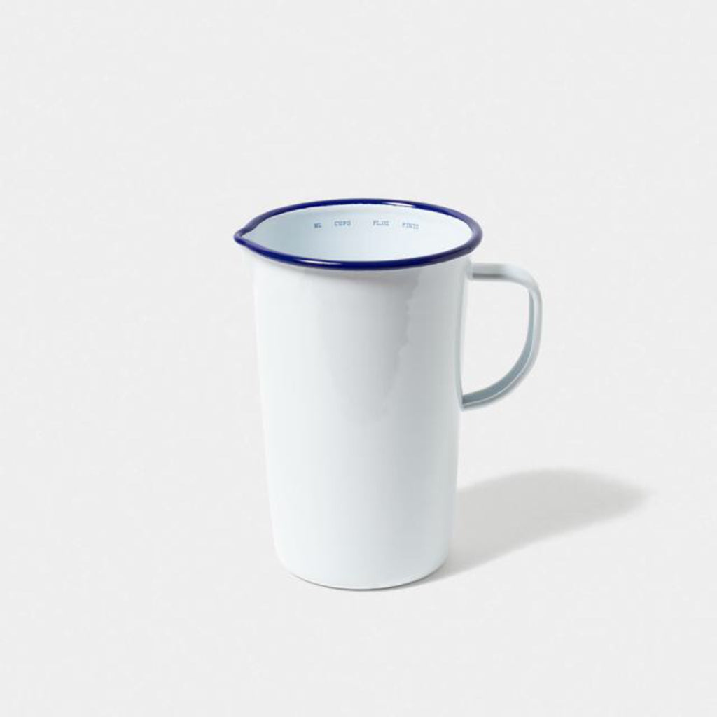 Enamel 2 Pint Measuring Jug - indish-design-shop-2