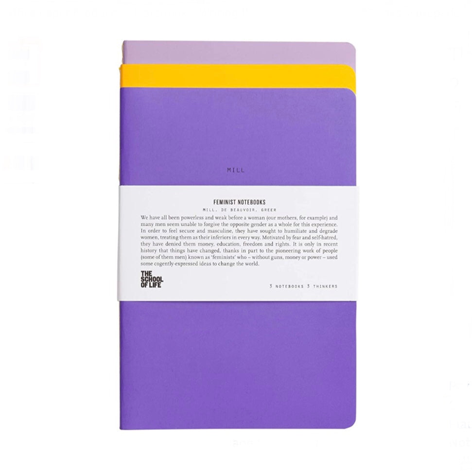 Feminist Notebook Set by The School of Life