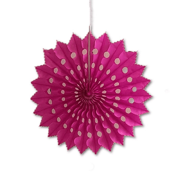 Paper Snowflake Decoration in pink
