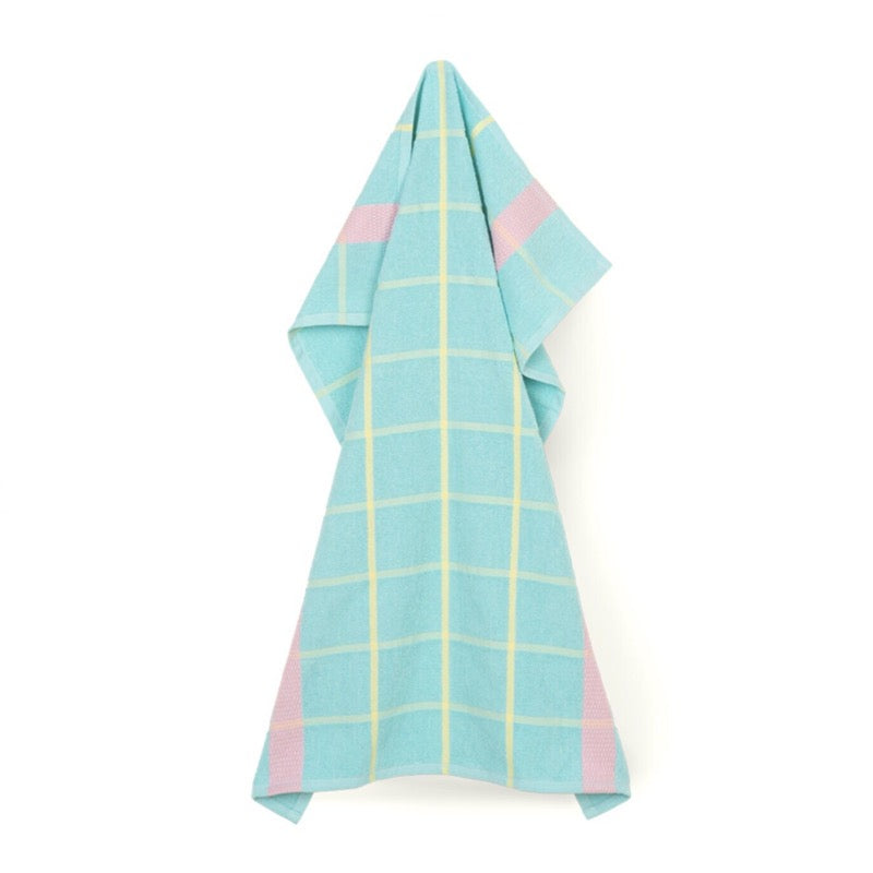Frotte organic cotton Tea Towel in mint