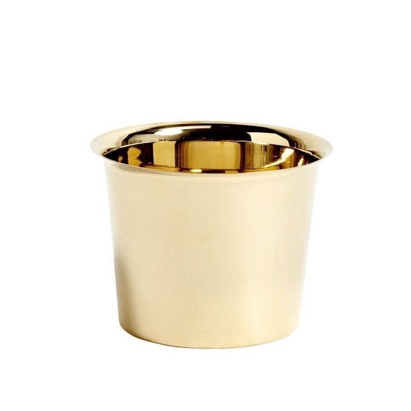 Botanical Brass Pot Medium - indish-design-shop-2
