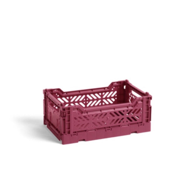 Hay small Colour Crate in plum