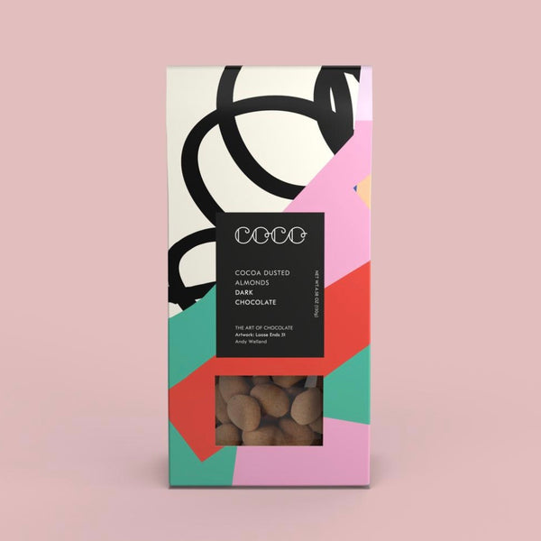 Cocoa Dusted Almonds 130g by Coco Chocolatier