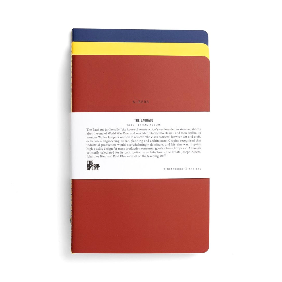 Bauhaus Notebook Set by The School of Life