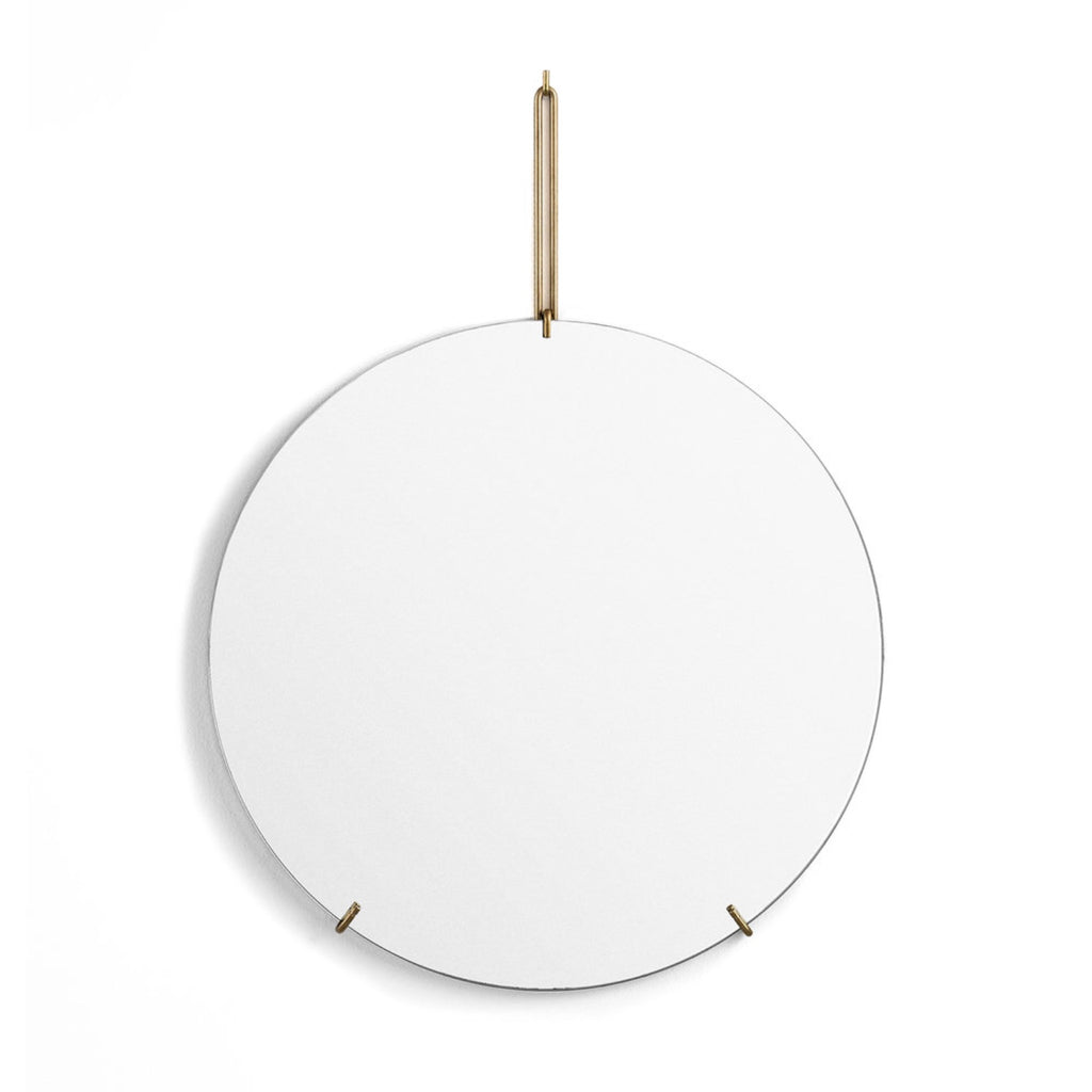 Wall Mirror Brass 30cm - indish-design-shop-2