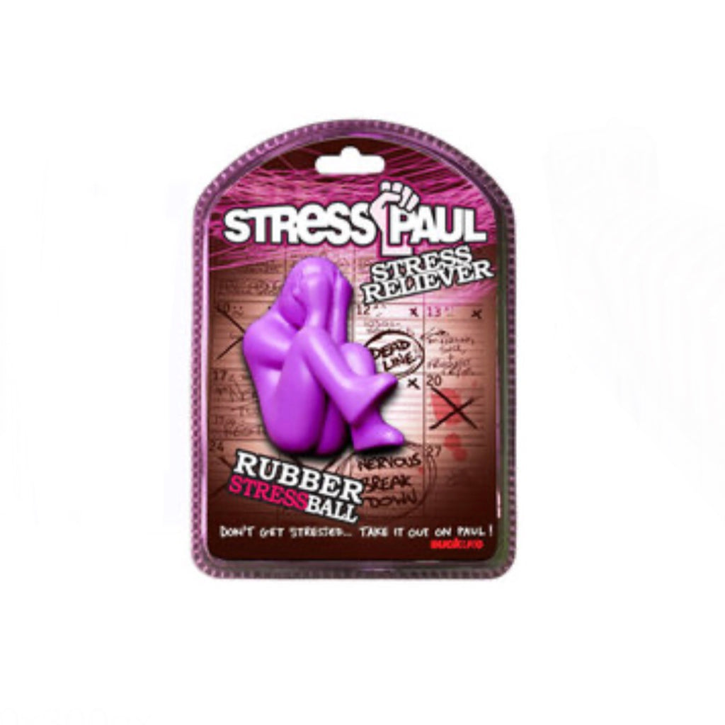 Purple stress ball Paul by Suck UK
