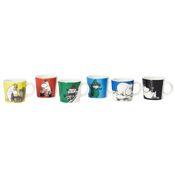 Moomin Mini Mug Set of 6 - indish-design-shop-2
