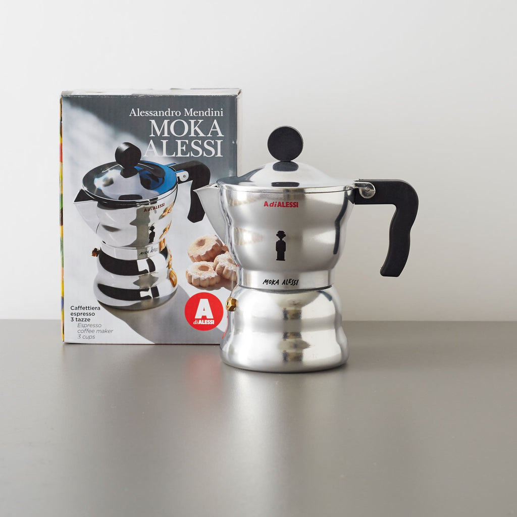 Moka Espresso Coffee Maker 1 Cup by Alessi