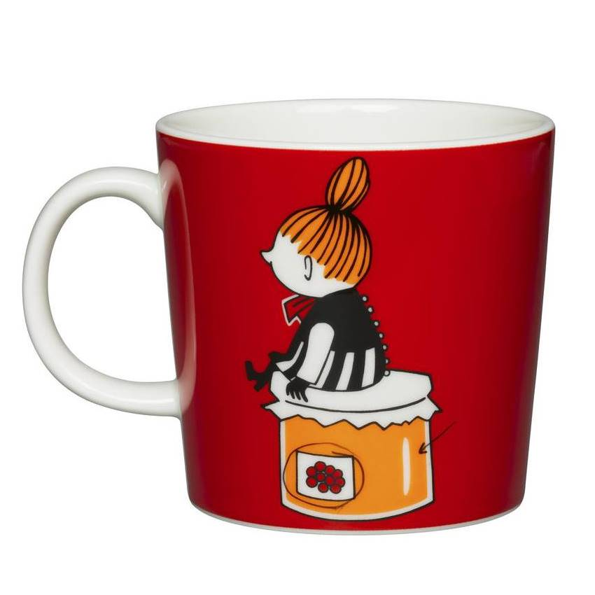Moomin Red Ceramic Mug Little My
