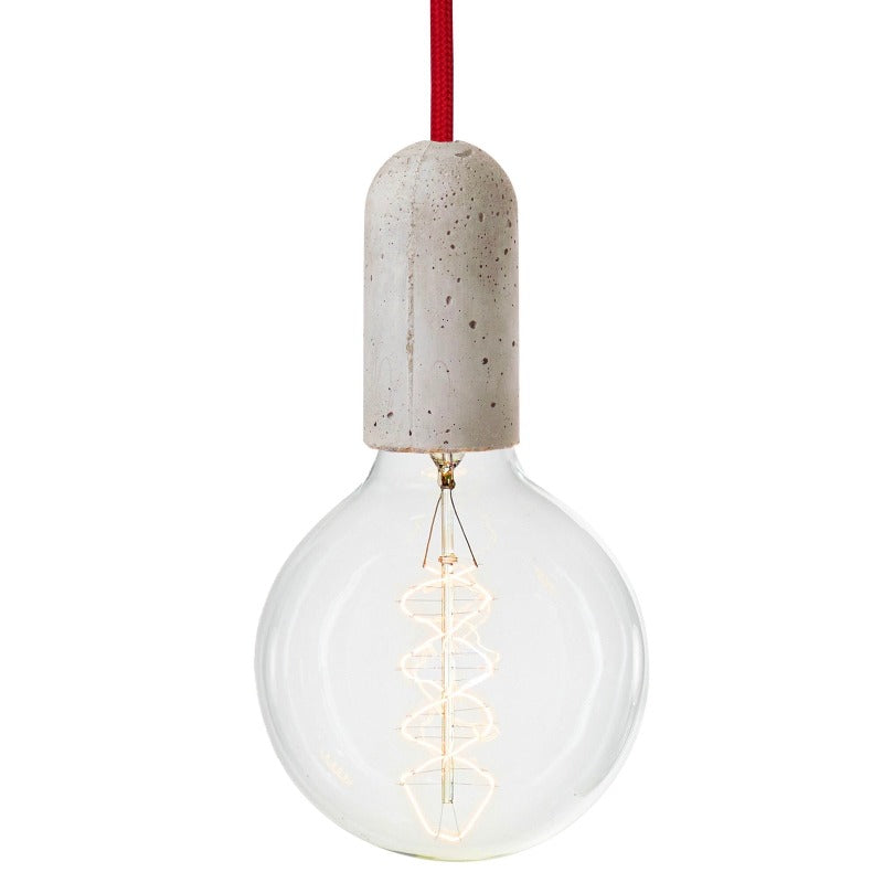 Concrete Cable Pendant Set - indish-design-shop-2