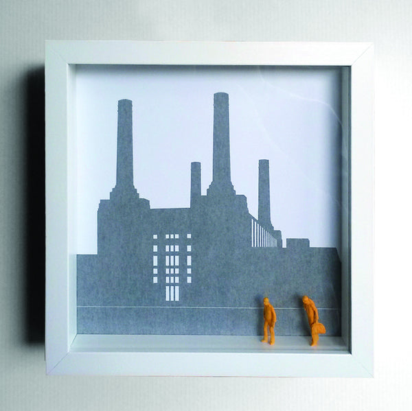 London Graphic Box Print - Battersea