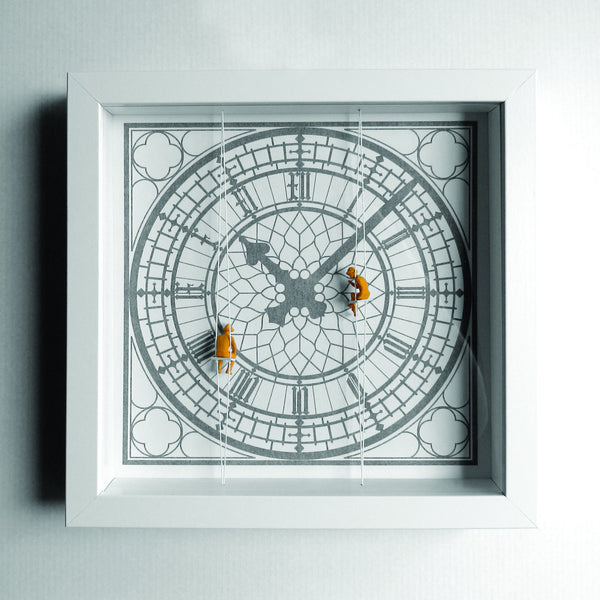 London Graphic Box Print - Big Ben