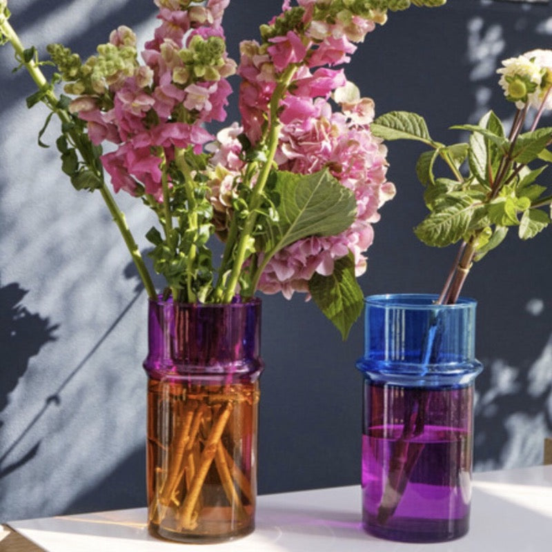 Moroccan Glass Vases by Hay