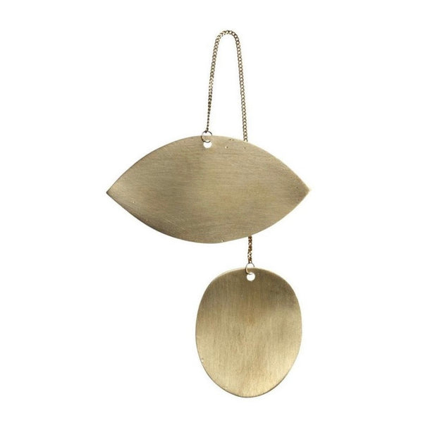 Brass tree ornament by Ferm Living