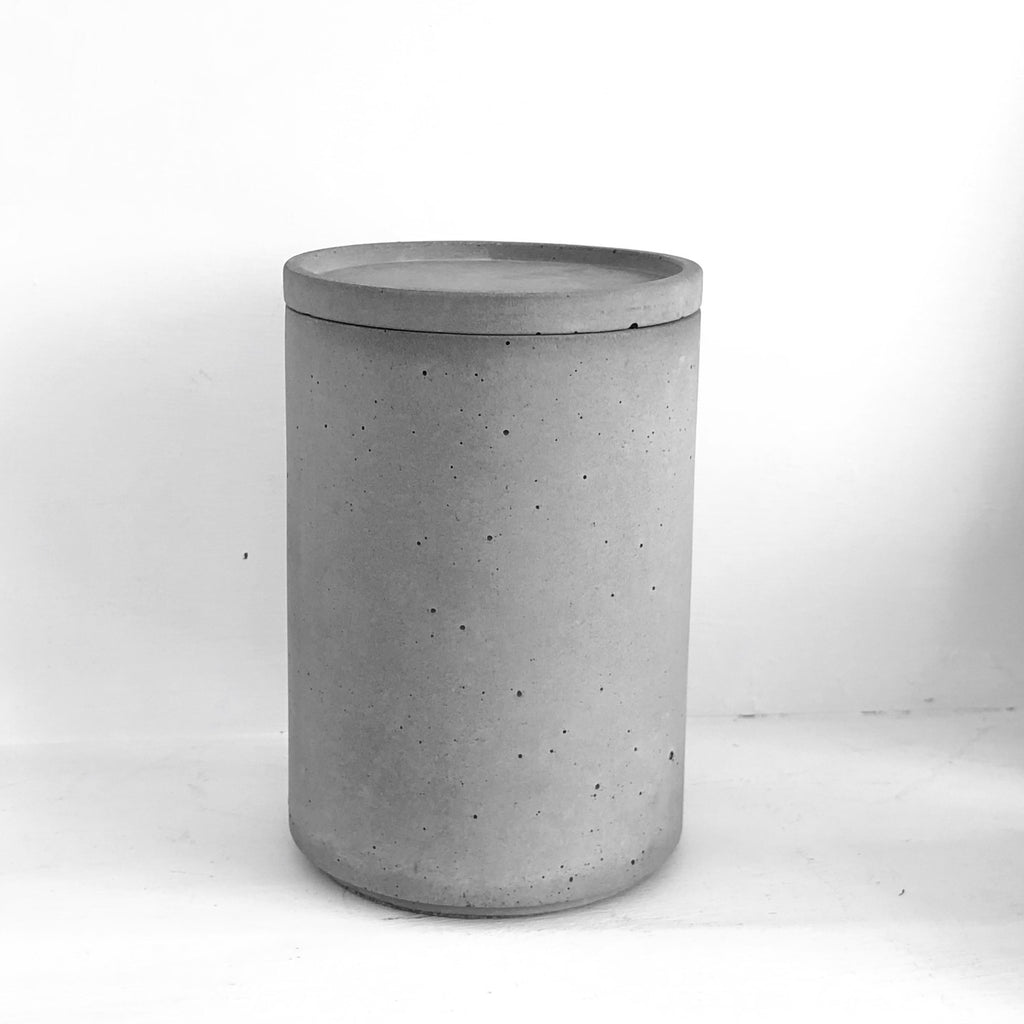 Concrete Storage Jar - indish-design-shop-2