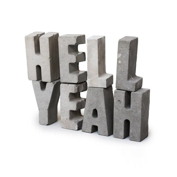 Concrete Letters - indish-design-shop-2