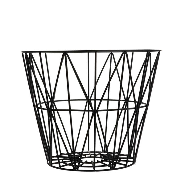 Wire Basket Small in black