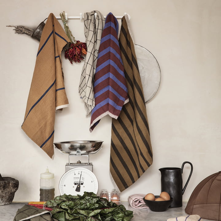 Hale Tea Towels by Ferm Living