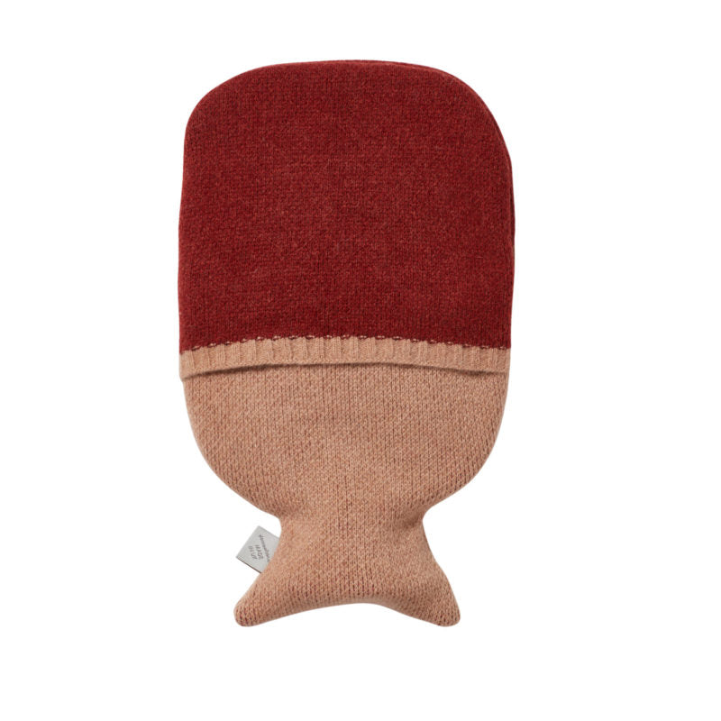 Donna Wilson wool Phoebe hot water bottle