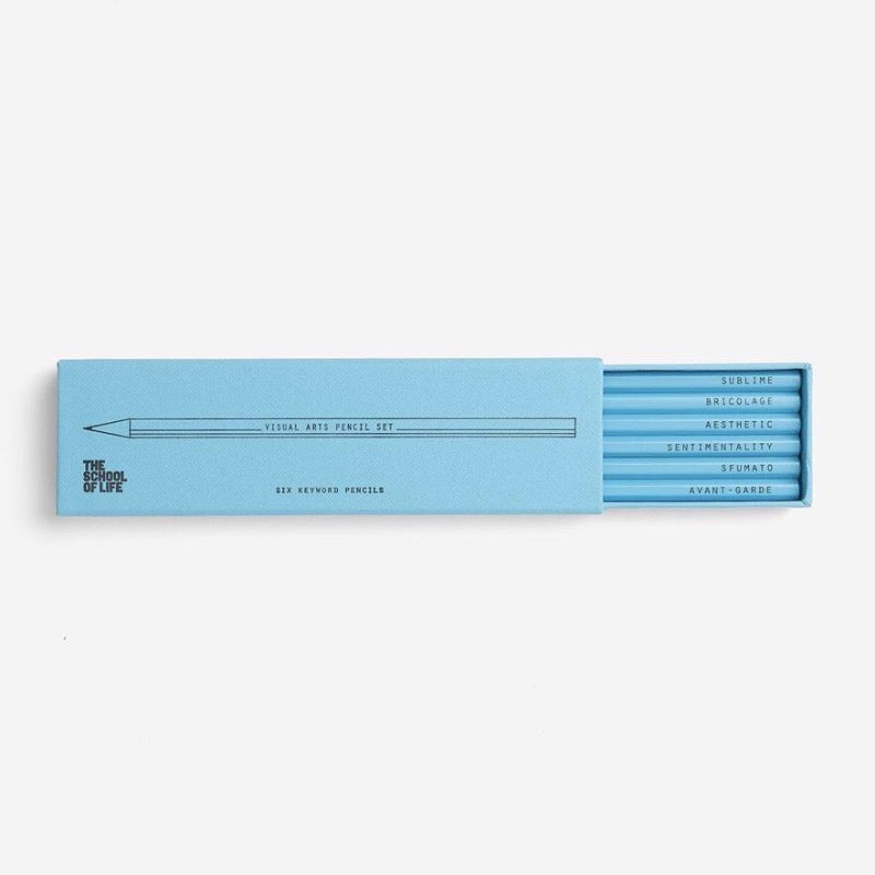 Key Word Pencil Set Visual Arts
