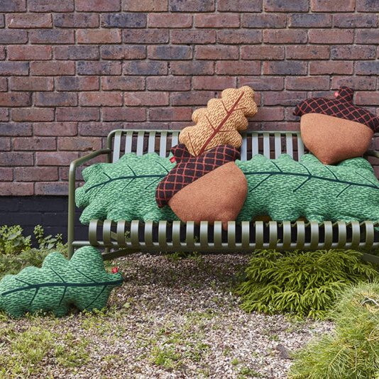 Wool cushions by Donna Wilson