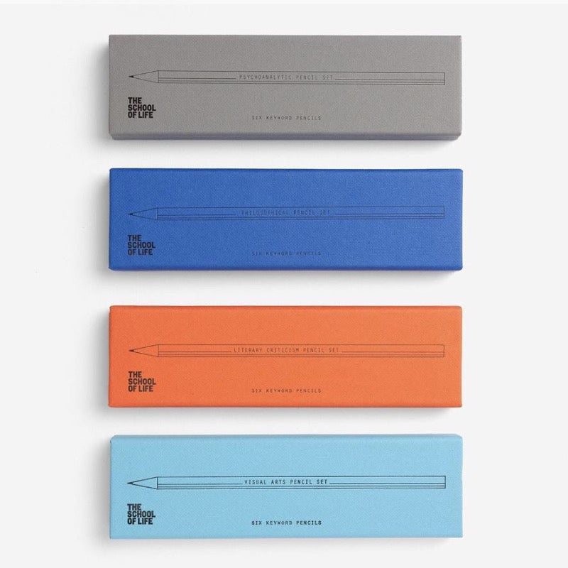 Key Word Pencil Sets by The School of Life