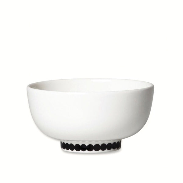 White and black Oiva Räsymatto Rice Bowl 3DL