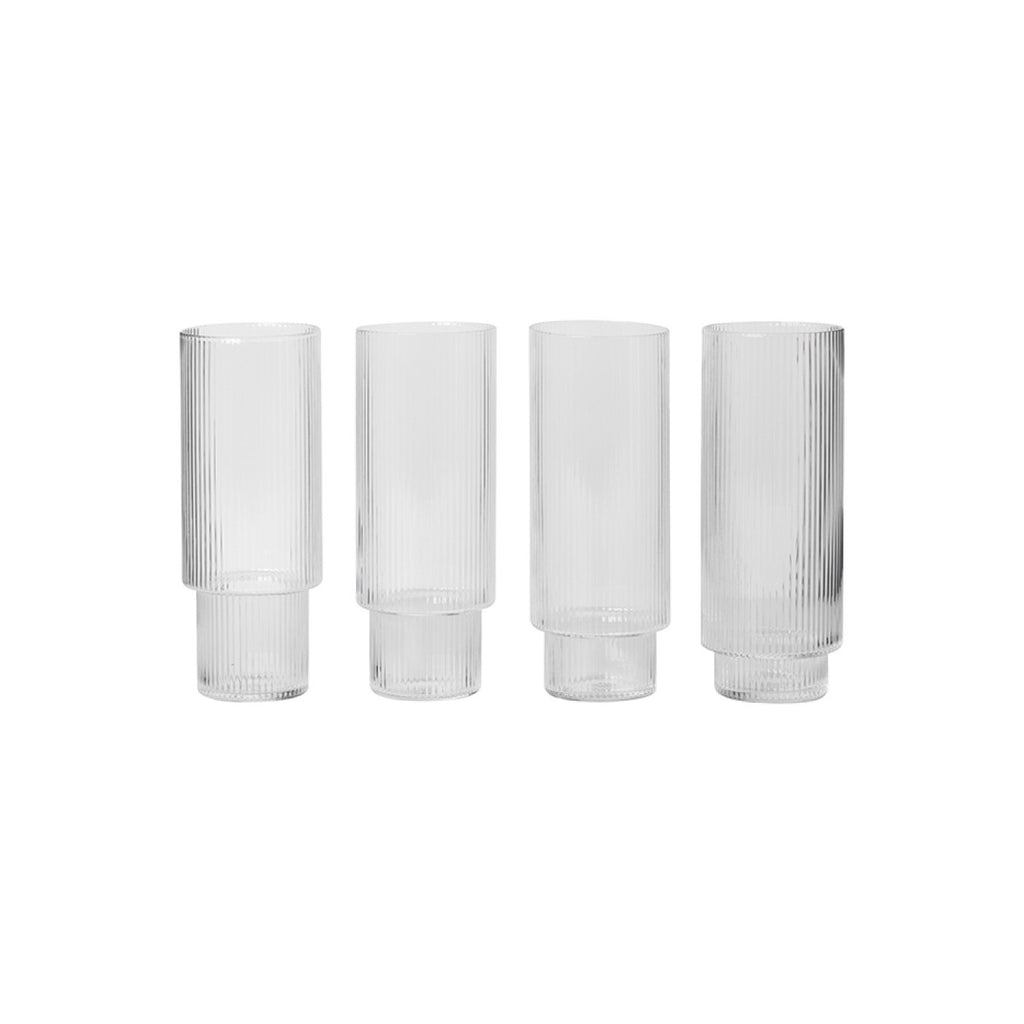 Ripple Long Glass Set
