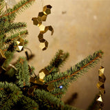 Fragment Brass Tree Ornaments Set of 3