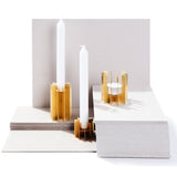 Klick Solid Brass Tealight Holder - indish-design-shop-2