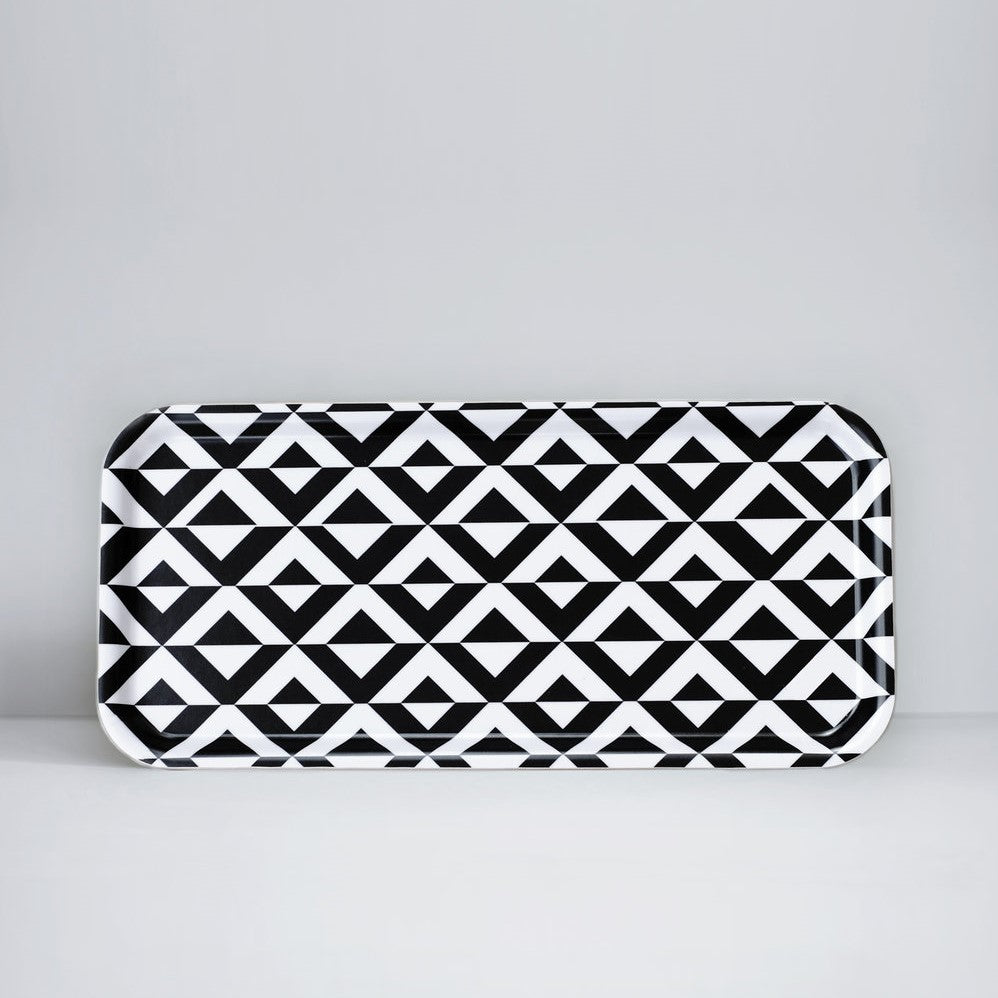 Monochrome Pattern Tray - indish-design-shop-2