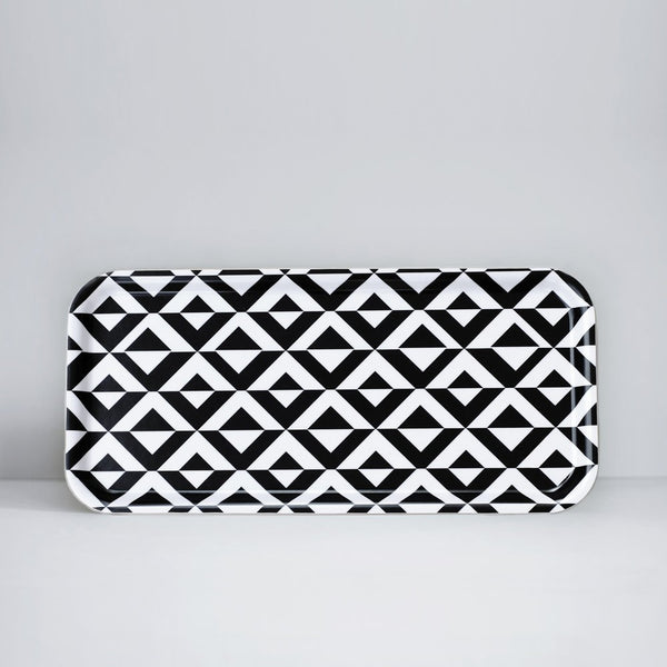 Monochrome Pattern Tray