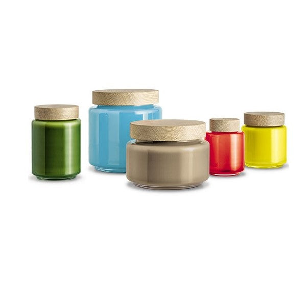 Holmegaard Palet Glass Storage Jars