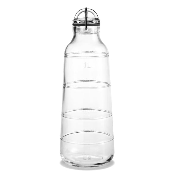 Scala Glass Bottle Carafe 1 Litre by Holmegaard