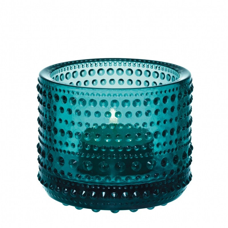 Kastehelmi Sea Blue Glass Votive