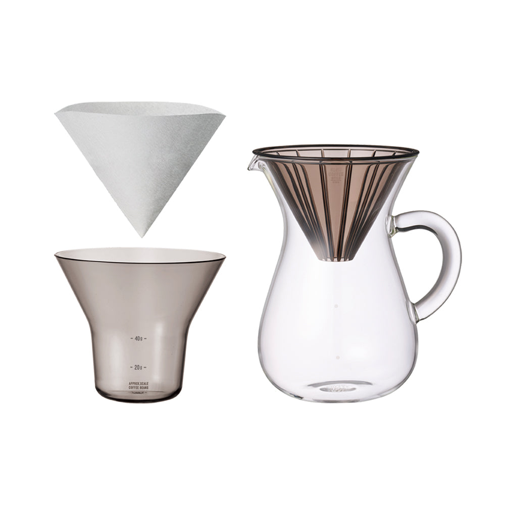 Coffee Carafe Set 4 Cups