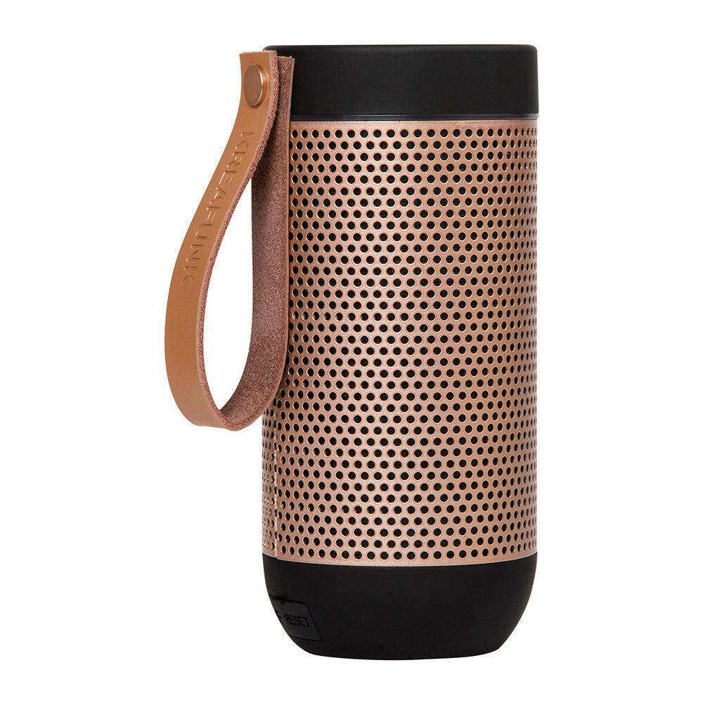 aFUNK 360 Degree Bluetooth Speaker black rose gold - indish-design-shop-2