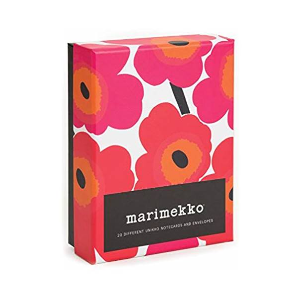 Unikko Set of 20 Notecards - indish-design-shop-2