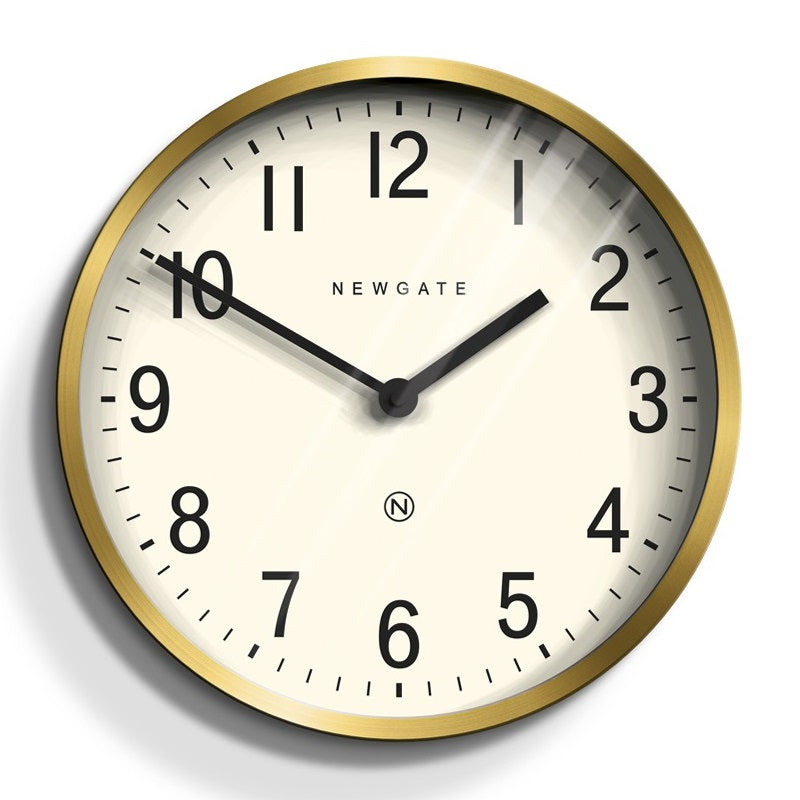 Master Edwards Radial Clock Brass - indish-design-shop-2