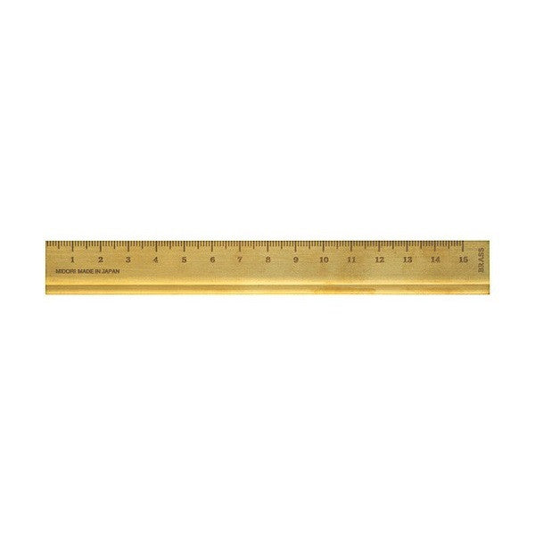 Brass Ruler 15cm - indish-design-shop-2