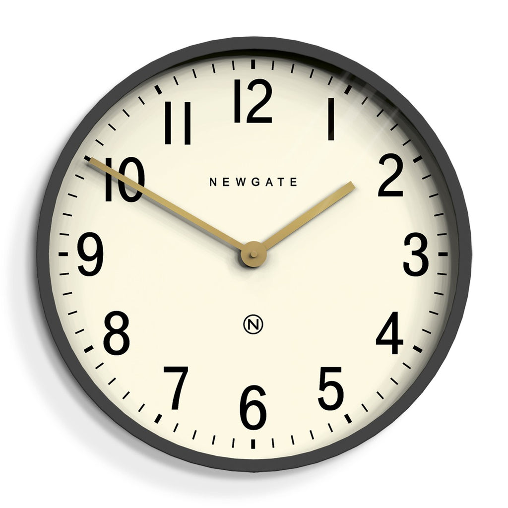 Master Edwards Radial Wall Clock Moonstone Grey - indish-design-shop-2
