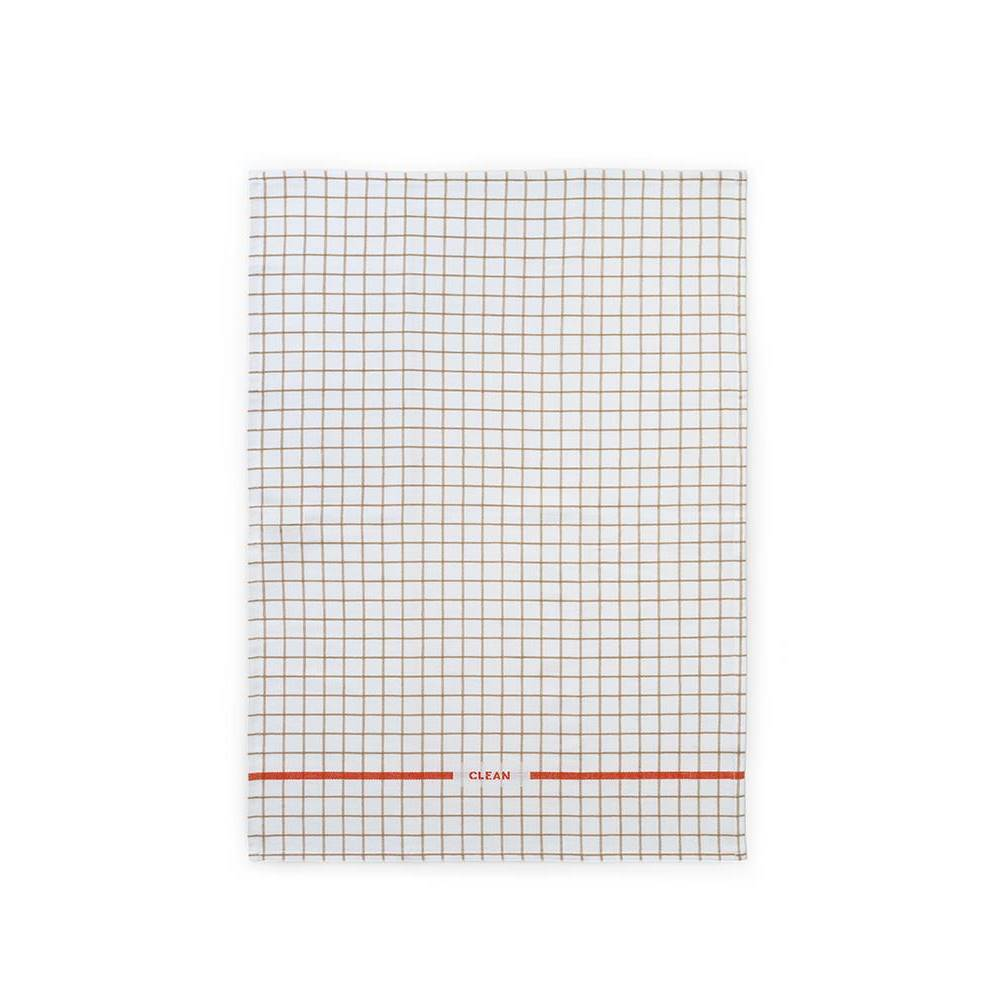 REN Tea Towel Grid