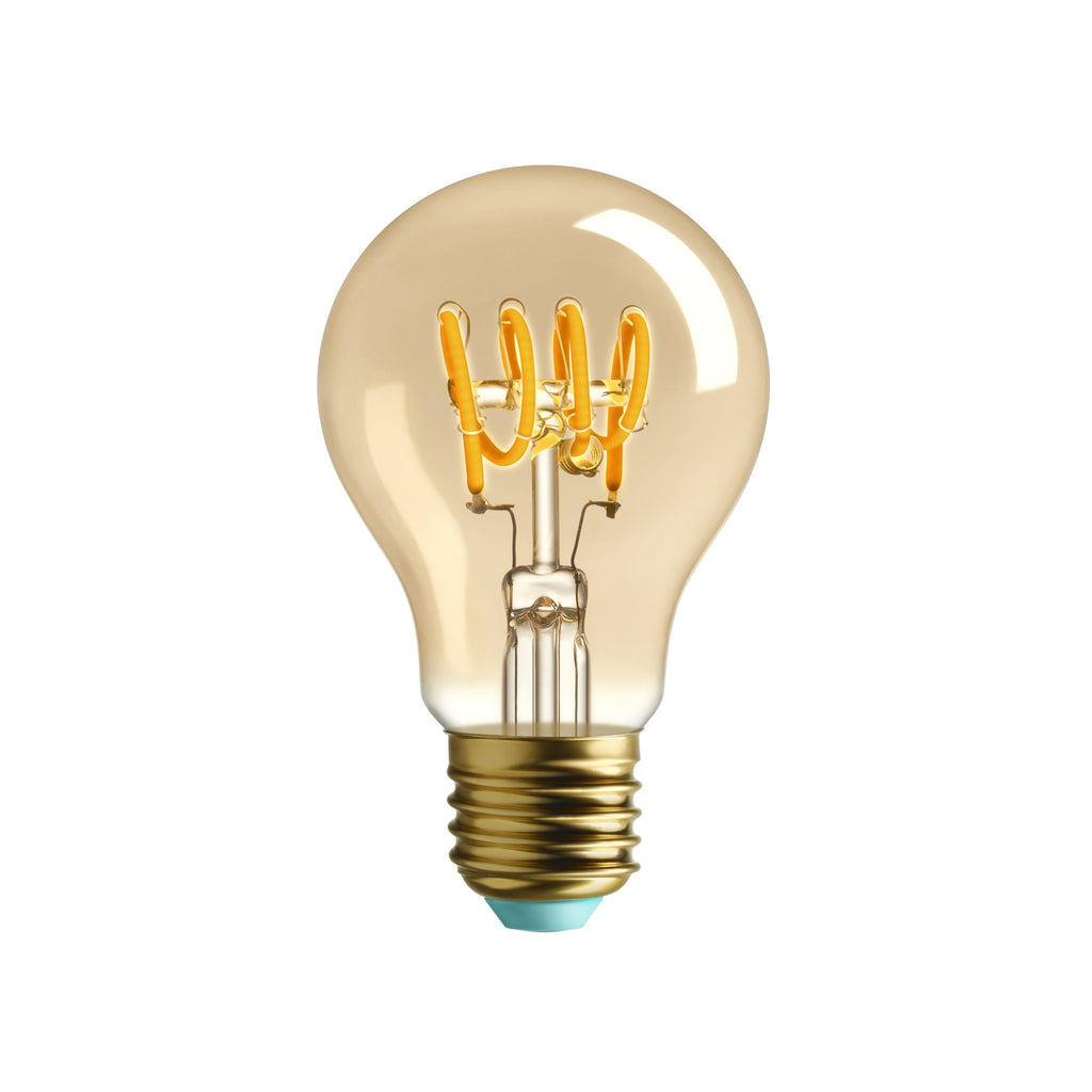 Whirly Wanda Dimmable Gold Tinted LED Bulb - indish-design-shop-2