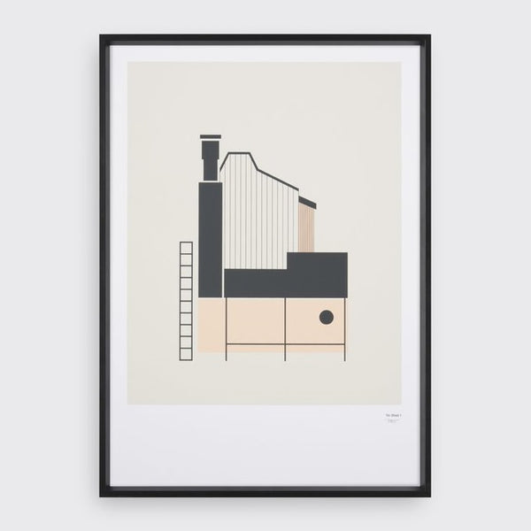 Tin Shed Print - indish-design-shop-2