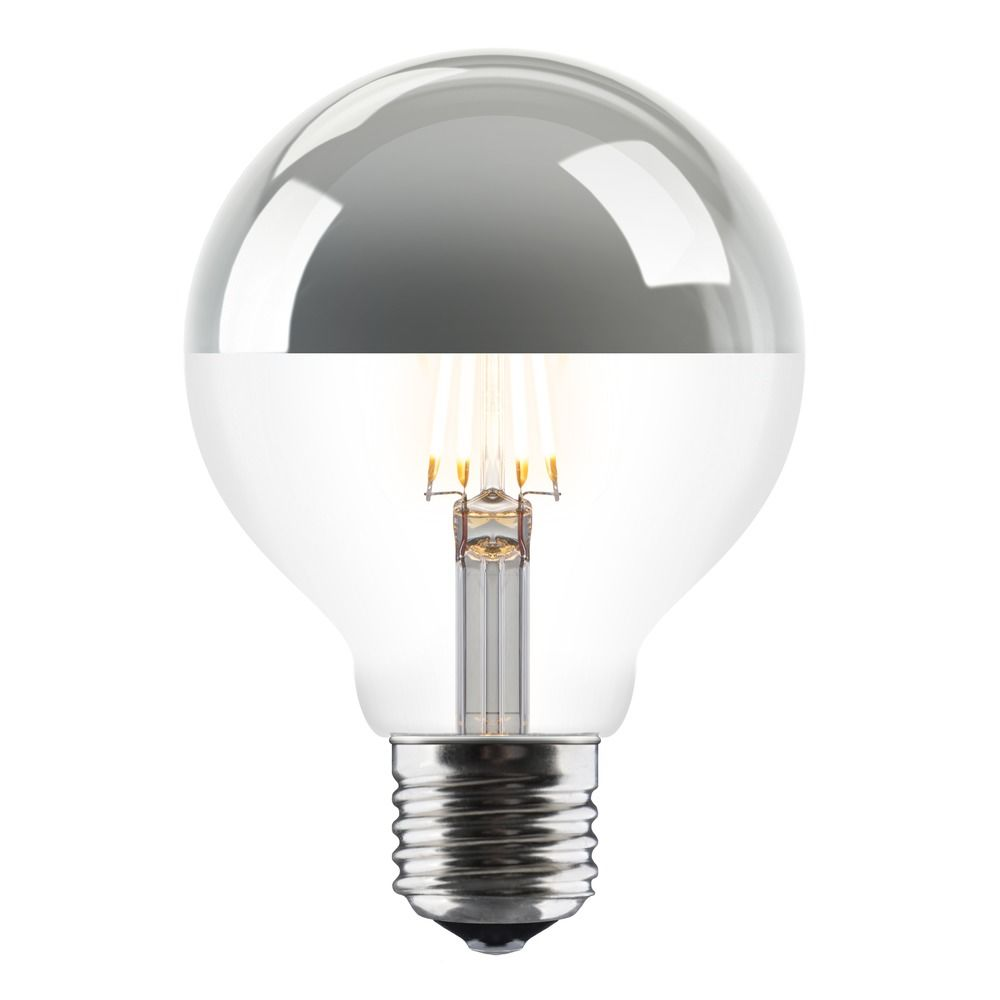 Idea 6 Watt LED Silver Top Bulb - indish-design-shop-2