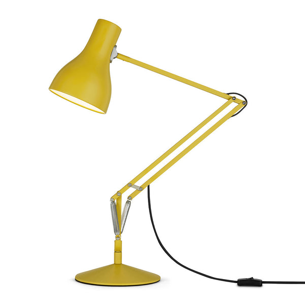Type 75 Desk Lamp Margaret Howell in yellow ochre