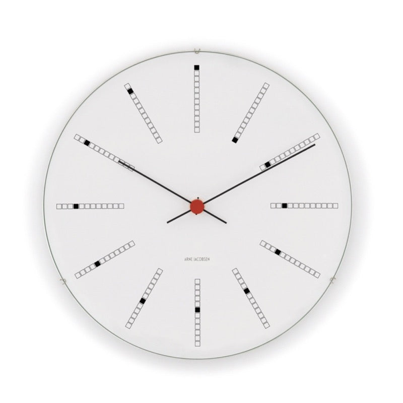 Arne Jacobsen Bankers Clock 16cm - indish-design-shop-2